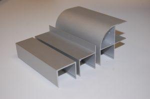 Алюминиевый профиль для сантехнических перегородок и его преимущества